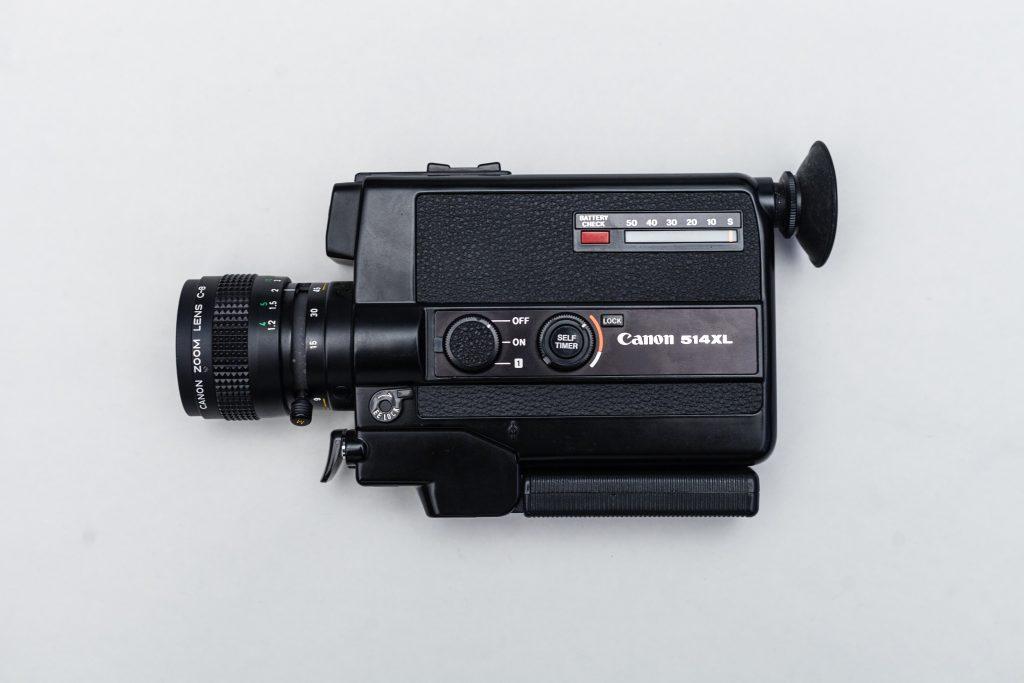 Rechtenvrije foto van een video-camera.